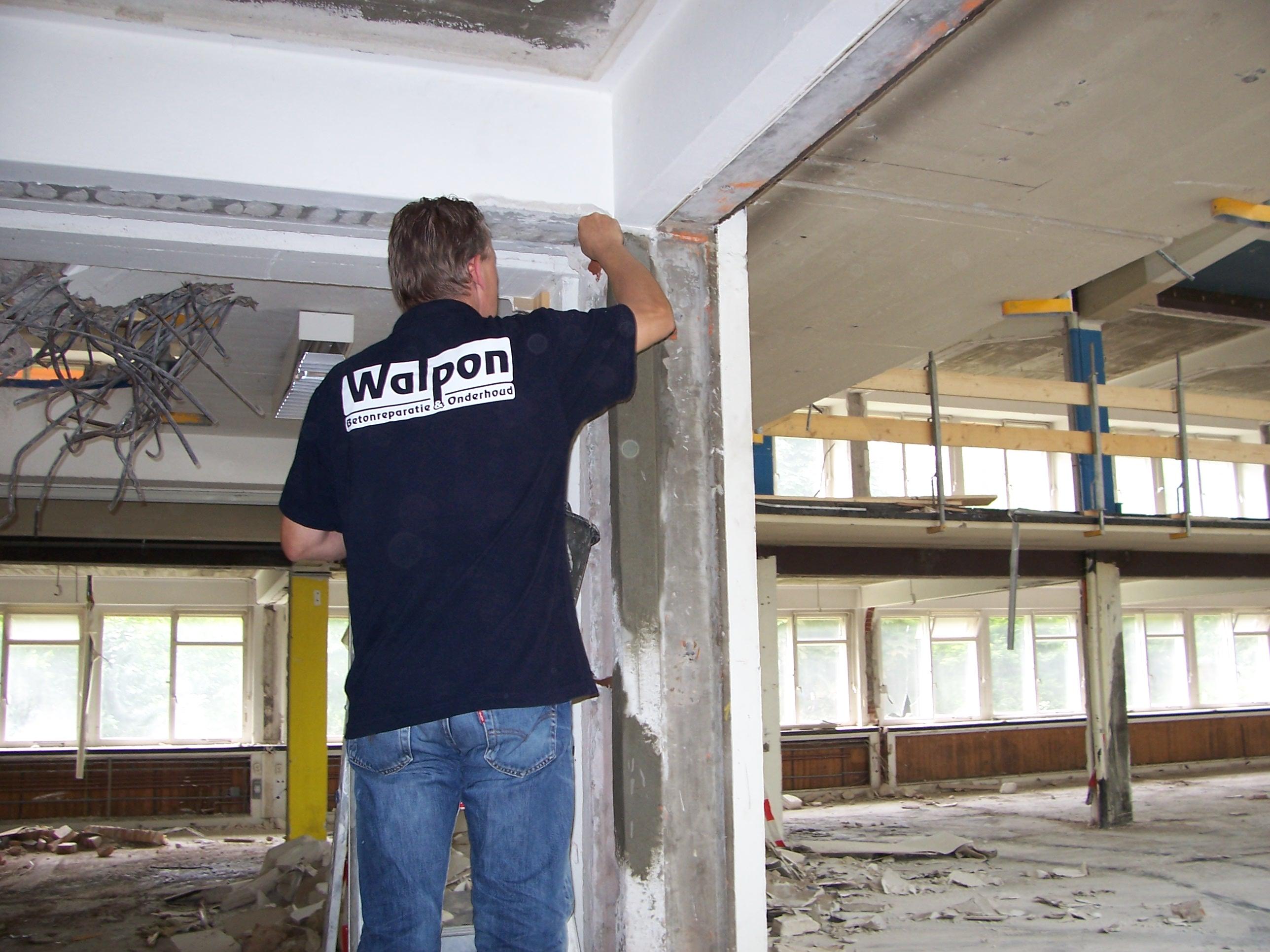 aannemers betonreparatie